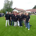 Die Teilnehmer unserer 3 Teams am Kubb Open-Turnier